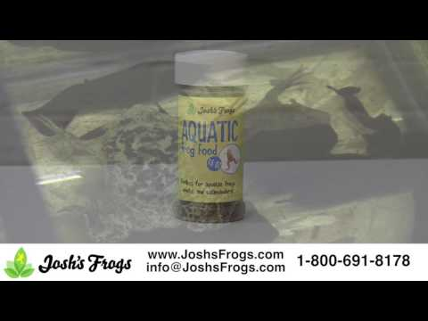 Josh's Frogs Aquatic Frog Food