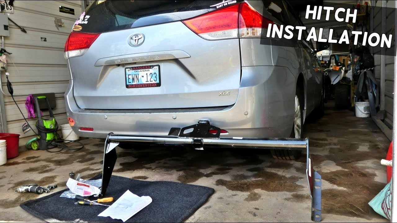 Toyota Sienna Hitch Installation Receiver