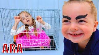 he is jealous of his little sister - قصة مضحكة