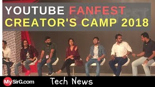 #6 Tech News | YouTube FANFEST Creators Camp 2018 Delhi