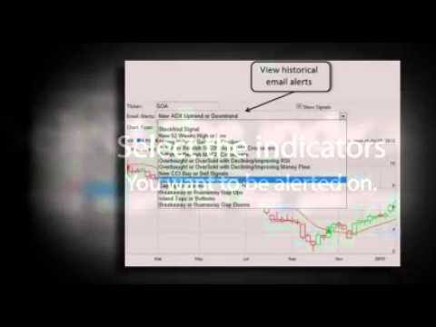Stock option trading alerts