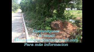 Terreno en venta en Escuintla carretera a Taxisco