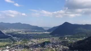 荒砥城からの眺め