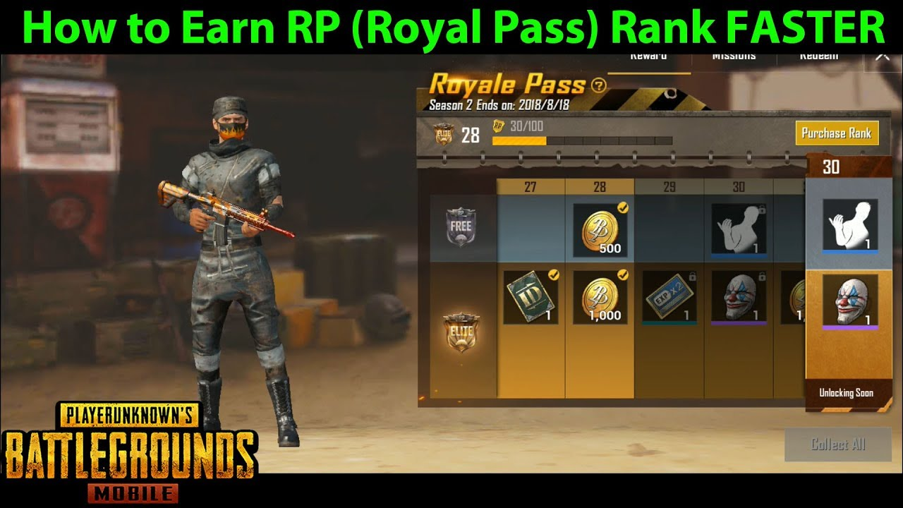 How To Earn Rp Royal Pass Rank Faster In Pubg Mobile Which Game - how to earn rp royal pass rank faster in pubg mobile which game mode is fastest for the mission