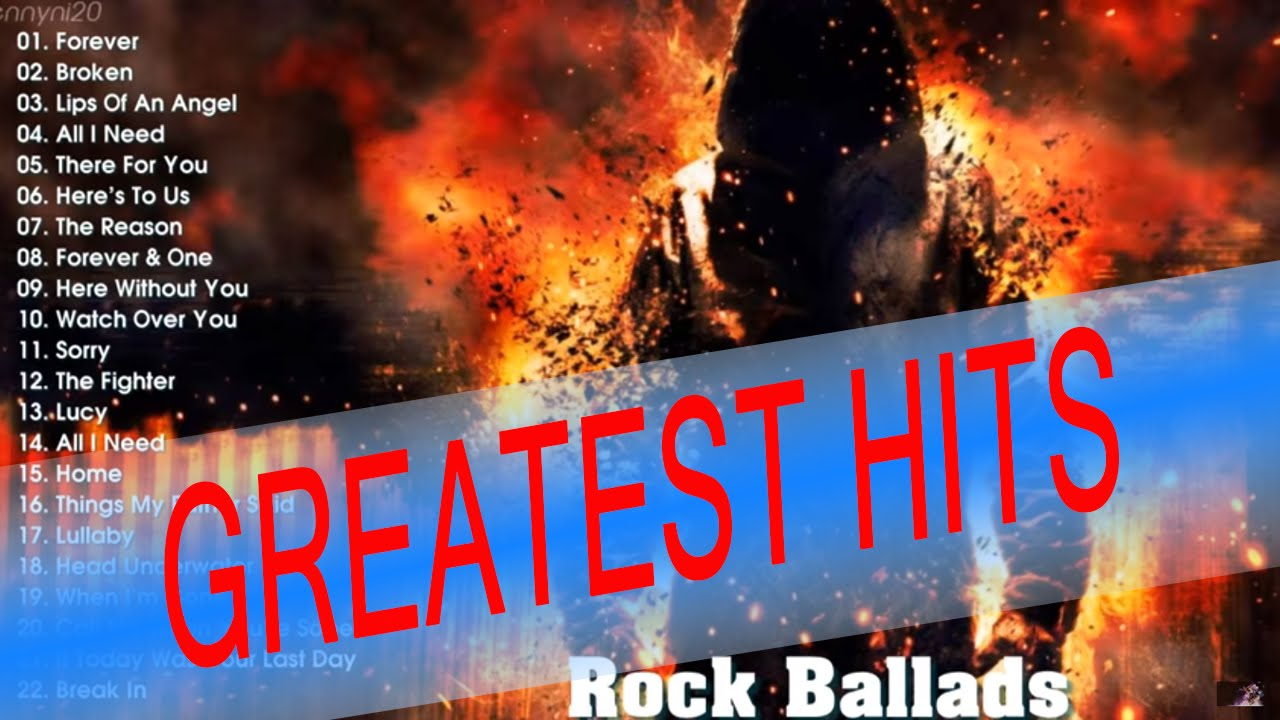 Top 100 Rock Ballads Of The 80s And 90s