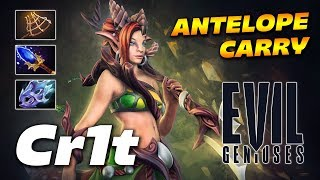 Cr1t- Enchantress - ANTELOPE CARRY - Dota 2 Pro Gameplay