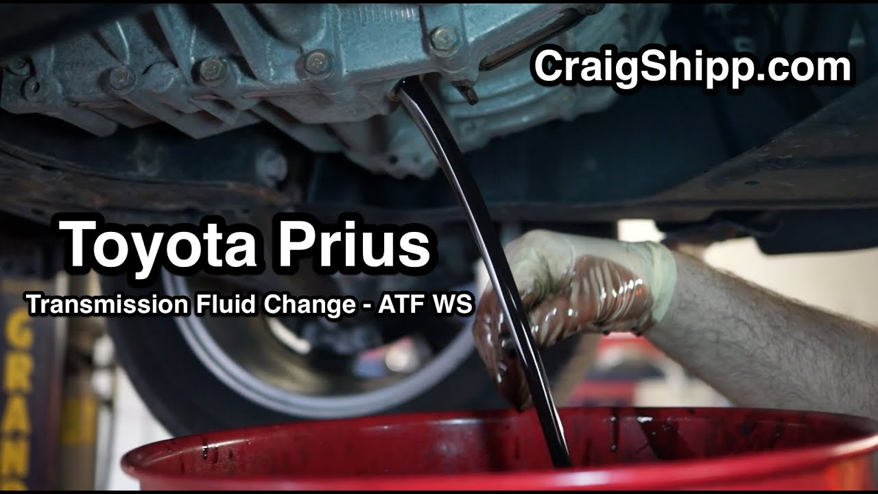 Prius Transmission Fluid Change Ecvt Youtube
