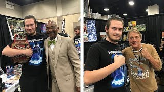 Meeting Teddy Long & Marty Jannetty (Knoxville, TN) | Brandon Hodge Vlog #69