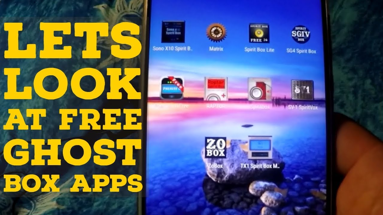 Lets Look At FREE Ghost Box Apps │ SPIRIT QUEST