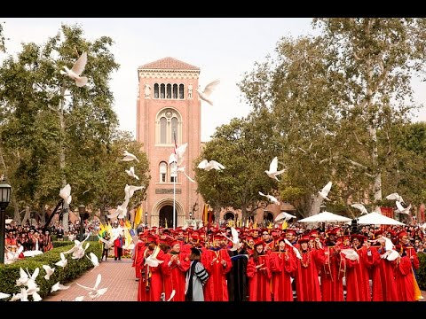 133rd Commencement Ceremony at USC