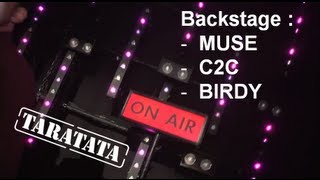 Backstage Muse, C2C, Birdy (TARATATA N°433 - Oct. 2012)