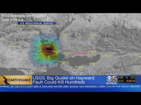 USGS Study Raises Concerns About Major Earthquake On Hayward Fault