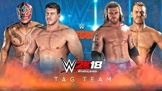 WWE 2K18 Rey Mysterio Eddie Guerrero vs Edge Christian | WWE 2K18 Tag Team Match - WWE 2K18 Matches