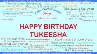 Tukeesha   Languages Idiomas - Happy Birthday