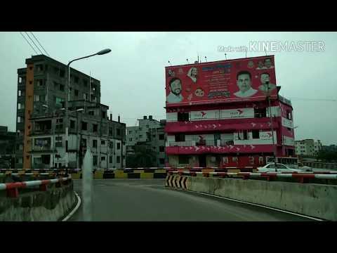 Dhaka City View | Khilgaon Flyover | Dhaka | Bangladesh