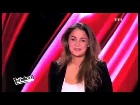 "The Voice 2 - Laura Chab' interprète ""People Help The Peolple"" et ""La bombe"""