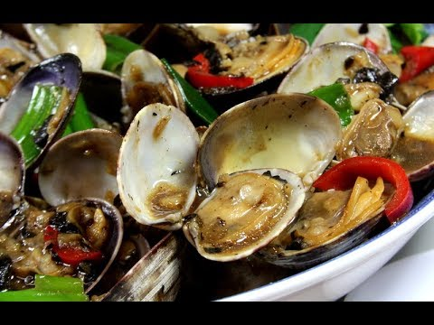 Manila Clams in Fermented Black Bean Sauce