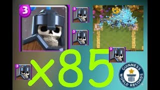 Clash Royale #22 X85 Guards Spawned Clash Royale World Record?