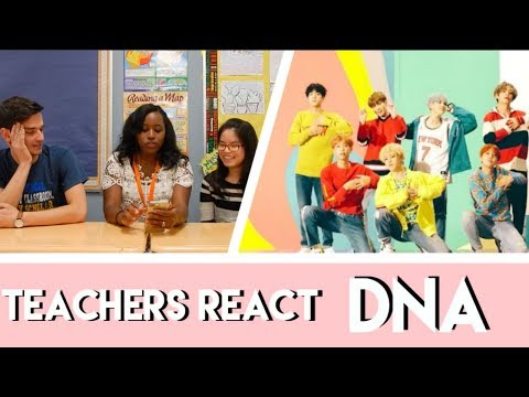 TEACHERS REACT: BTS - DNA