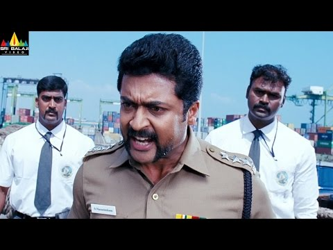 Singam (Yamudu 2) Movie Scenes | Surya Warning To Rahman And Mukesh Rishi | Latest Telugu Scenes