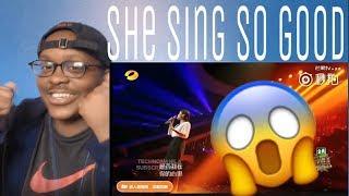 KZ Tandingan Sings in Mandarin| China Singer 2018 REACTION!