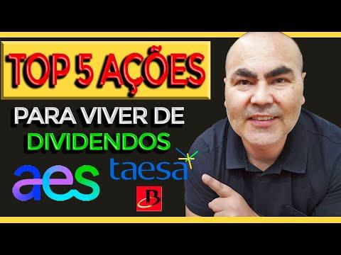 TOP 5 AÇÕES PARA VIVER DE RENDIMENTOS