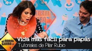 Los trucos de Pilar Rubio para hacer la vida más fácil a los papás - El hormiguero 3.0