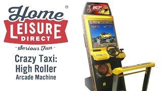 Crazy Taxi High Roller Arcade Machine (SEGA 2002)