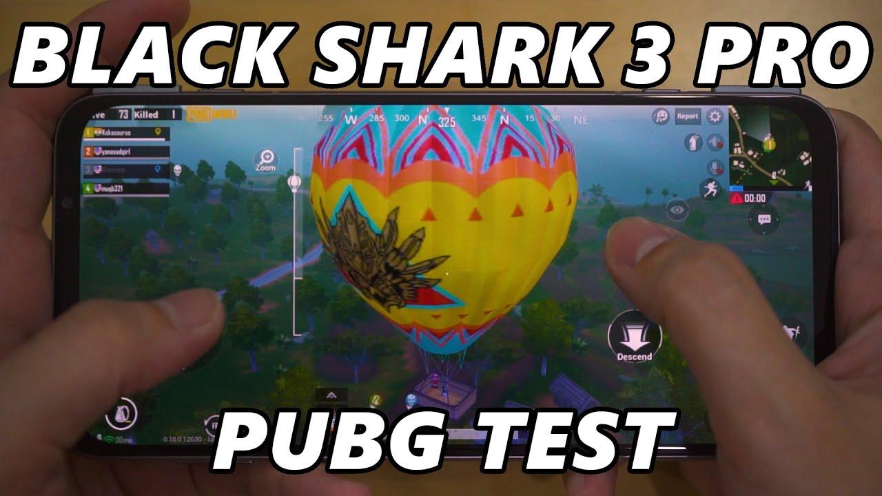 Black Shark 3 Pro - PUBG Mobile test
