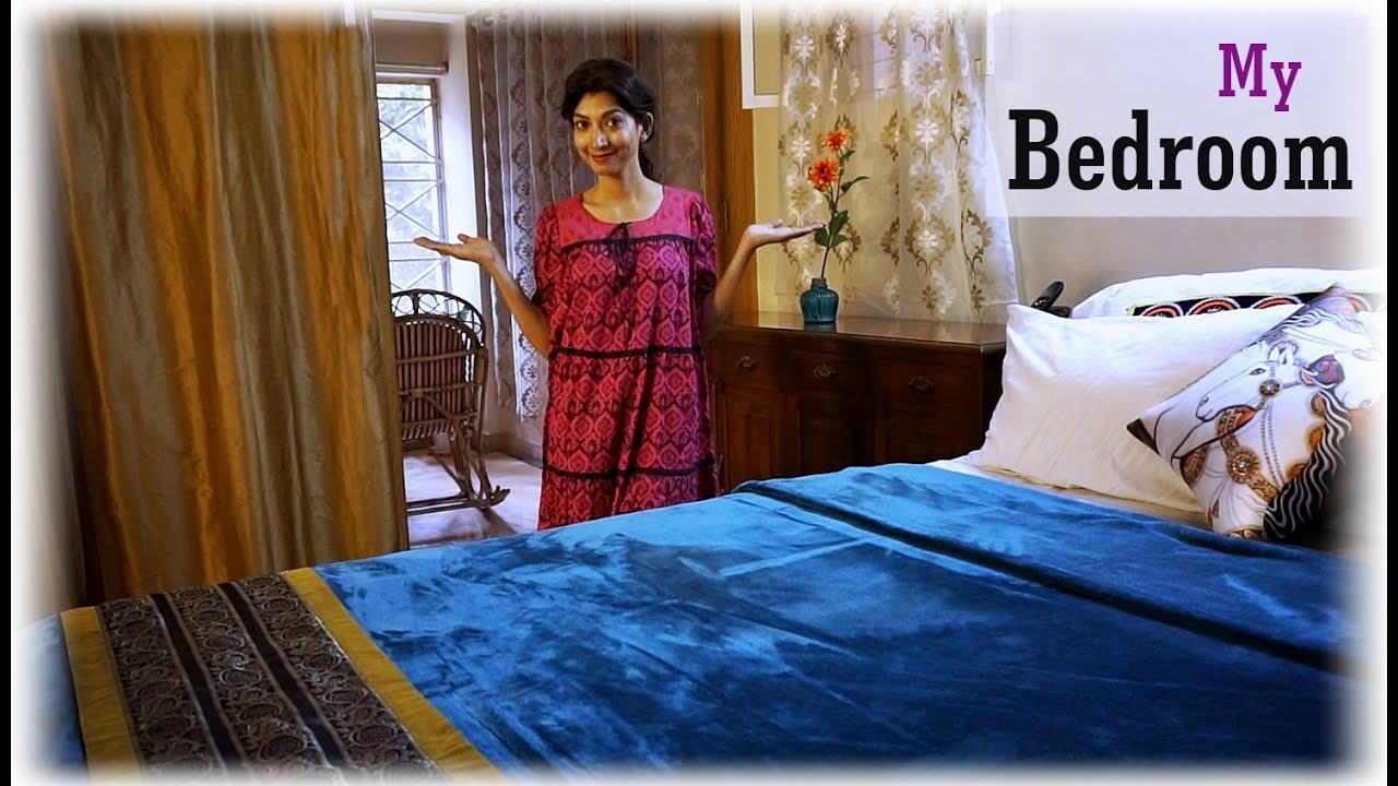Amazing Indian Home Decorating Ideas Part - 13: Indian Home Decor Ideas - My Bedroom Interiors | Indian Youtuber - YouTube
