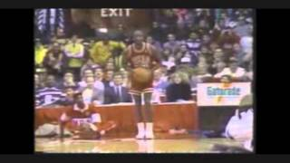 michael jordan six dunks from the free throw line