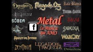 Una historia con buena música, metal en español