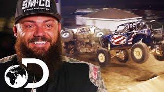 Sparks Motors vs. Goons Garage: The Tough Truck Challenge | Diesel Brothers