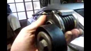 Remplacement Galet Tendeur courroie accessoire Passat CC 2 0 TDI  moteur  CBAB