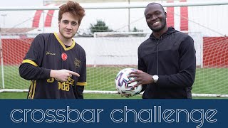 Moussa Sow on Youtube, Crossbar challenge w/ Gereksiz Oda | Je suis sur youtube, défi crossbar