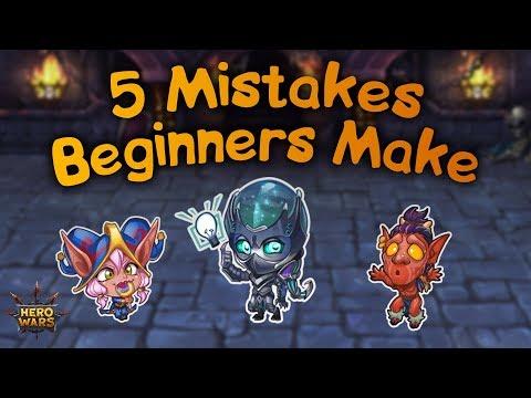 5 Mistakes Beginners Make | Hero Wars