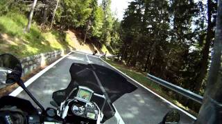 Fun ride on R1200GS following Speed Triple in Italian Alps 2011