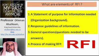 What is RFI? and How to write A Request For Information (RFI)