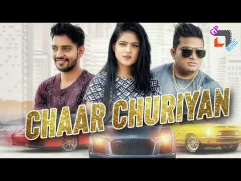 √CHAAR CHURIYAN __RAJU PUNJABI__RITU__LATEST POPULAR HARYANVI DJ HIT SONG 2018__GP MUSIC PRODUCTION