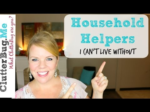 Household Helpers I can't live without - Cleaning Tips and Tricks