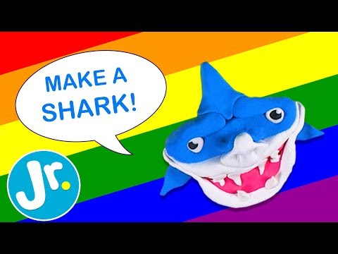 How To Make A Shark Simple Crafts For Kids Youtube