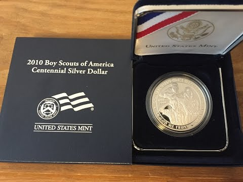 2010 Boy Scouts of America Centennial Silver Commemorative Dollar: Know Your Coins!