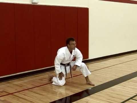 Basic Karate Stances Youtube
