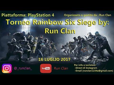 Rainbow 6 Torneo RunClan - Finale  LaFox eSports vs TEAM_GOLD