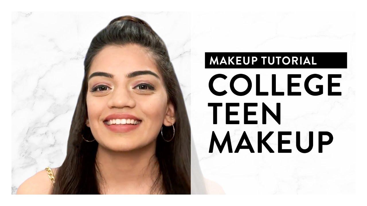 Makeup Look For Teens   College Makeup Tutorial   MyGlamm