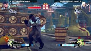 USF4 @ NLBC #136 Grand Finals - PIE Smug vs PAG Glitch [720p/60fps]