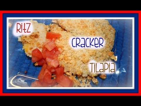 Buttery Golden Ritz Cracker Tilapia | Easy, Inexpensive + DELICIOUS