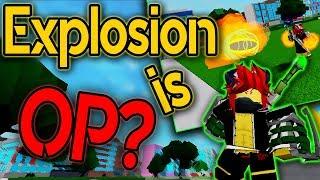 EXPLOSION DE BAKUGO QUIRK COMPLETO SHOWCASE ? BOKU NO ROBLOX REMASTERED ROBLOX