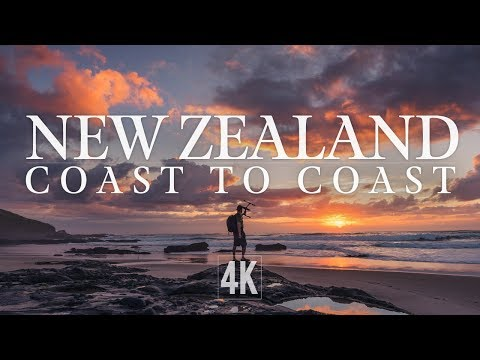 New Zealand Coastline by Drone 4K (North Island)