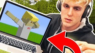 JAKE PAUL? MINECRAFT!? (seriously...)